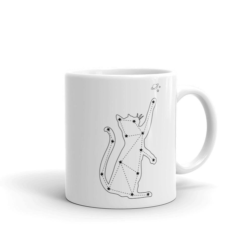 Constellation Cat Mug - Revival Ink Shirts