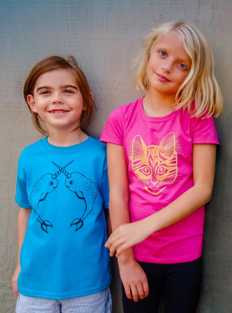 Narwhal Toddler Tee - Revival Ink Shirts