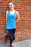 Narwhal Womens Tank Top - Revival Ink Shirts