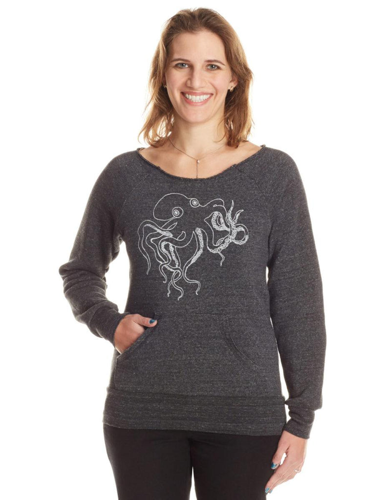 Octopus Womens Sweatshirt - Revival Ink Shirts