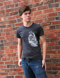 Owl T-Shirt Mens - Revival Ink Shirts