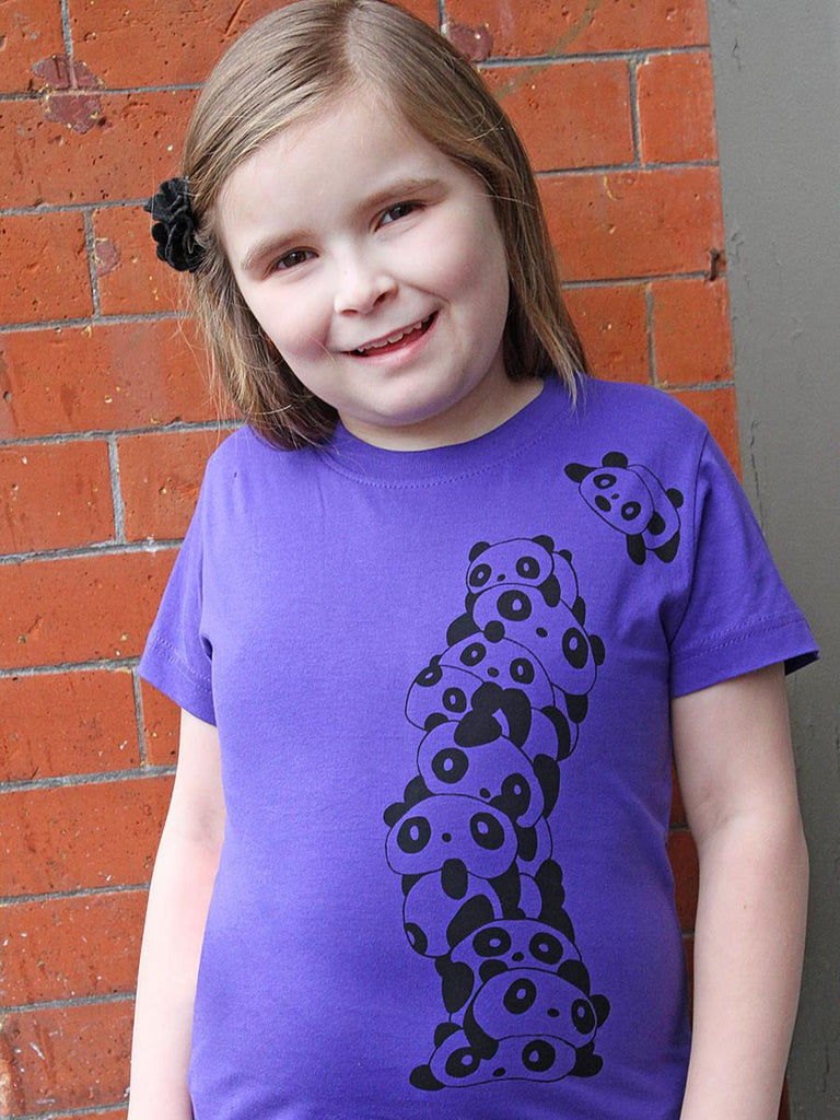 Panda Girls Graphic Tee - Revival Ink Shirts
