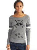 Raccoon Womens Sweatshirt