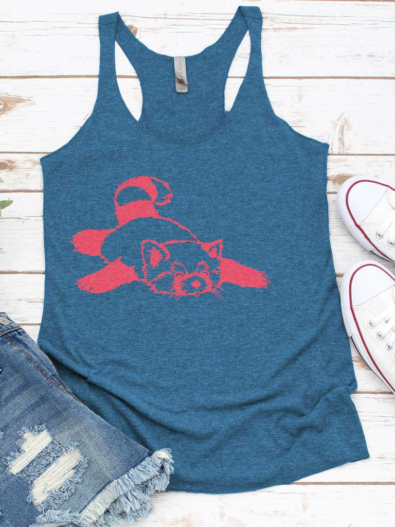 Red Panda Funny Women's Tank Top - Revival Ink Shirts