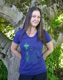 Seattle Octopus Womens Tee - Revival Ink Shirts