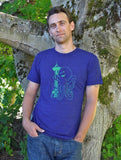 Mens Seattle Octopus Graphic Tee - Revival Ink Shirts