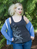 Twisted Tree Womens Tank Top - Revival Ink Shirts