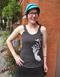 Feather Womens Tank Top - Revival Ink Shirts