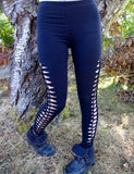 Braided Womens Leggings - Revival Ink Shirts