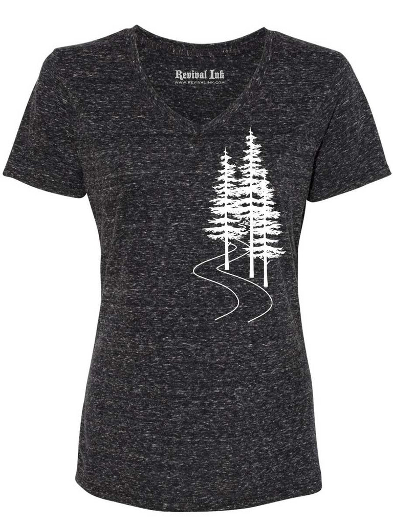 Trees Womens T Shirt - Revival Ink Shirts