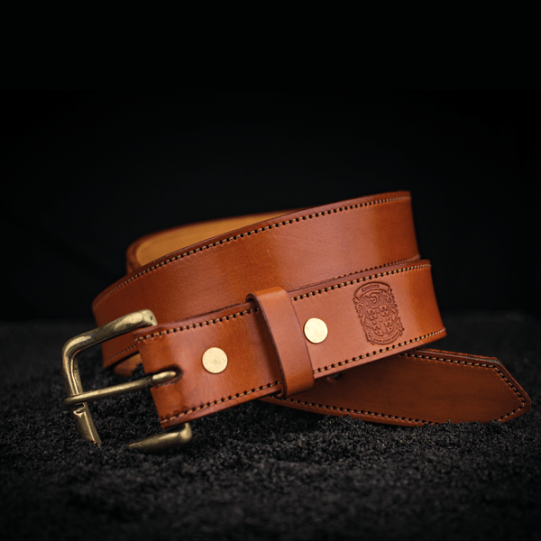 35mm Stitched Gent's Belt's