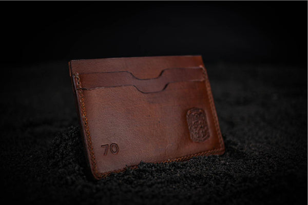 the Drew leather wallet