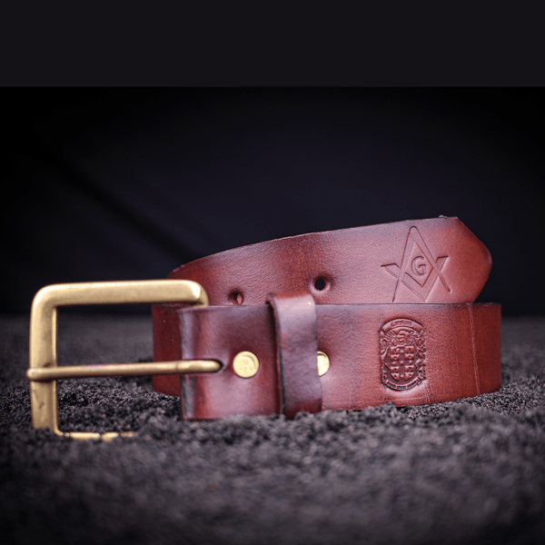Masonic 35mm Gent's Belt's