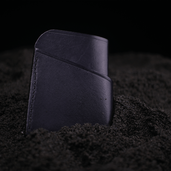 the Meg wallet in leather