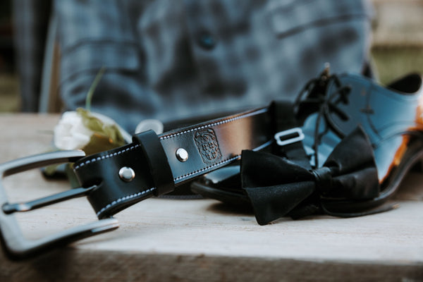 Pack of 5 - Stitched Gent's Belt's