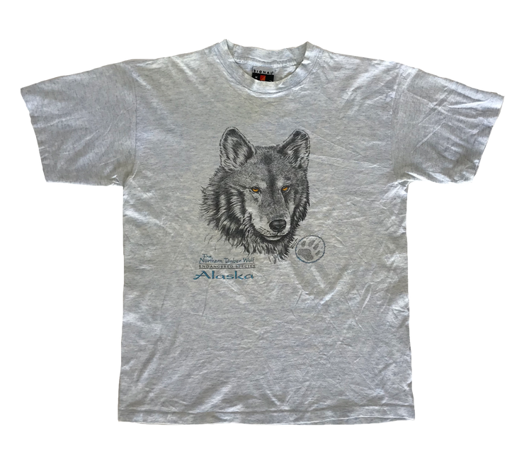THE NORTHERN TIMBER WOLF
