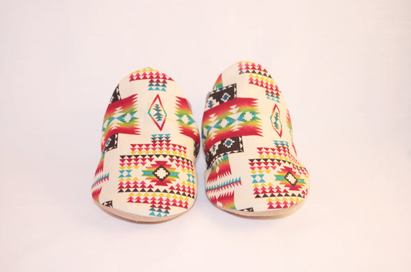 Baby Moccasins in White