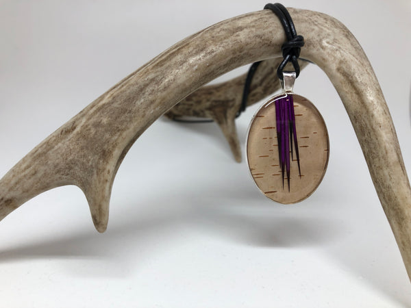 Birch and Quill Pendant