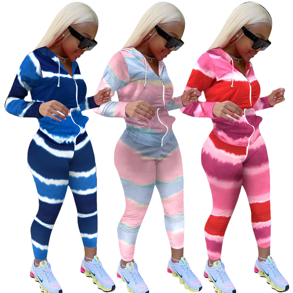 Retail or Wholesale: Two-Piece Tie Dye Track Suit