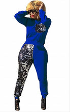 Load image into Gallery viewer, Retail or Wholesale: Half Sequins Track Suit