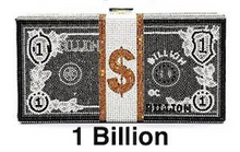 Load image into Gallery viewer, Retail or Wholesale: Bling Big Money Purse