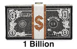 Retail or Wholesale: Bling Big Money Purse