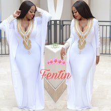 Load image into Gallery viewer, Fentin Premium Jersey - Kaftan No. 12 + Headscarf/Shawl