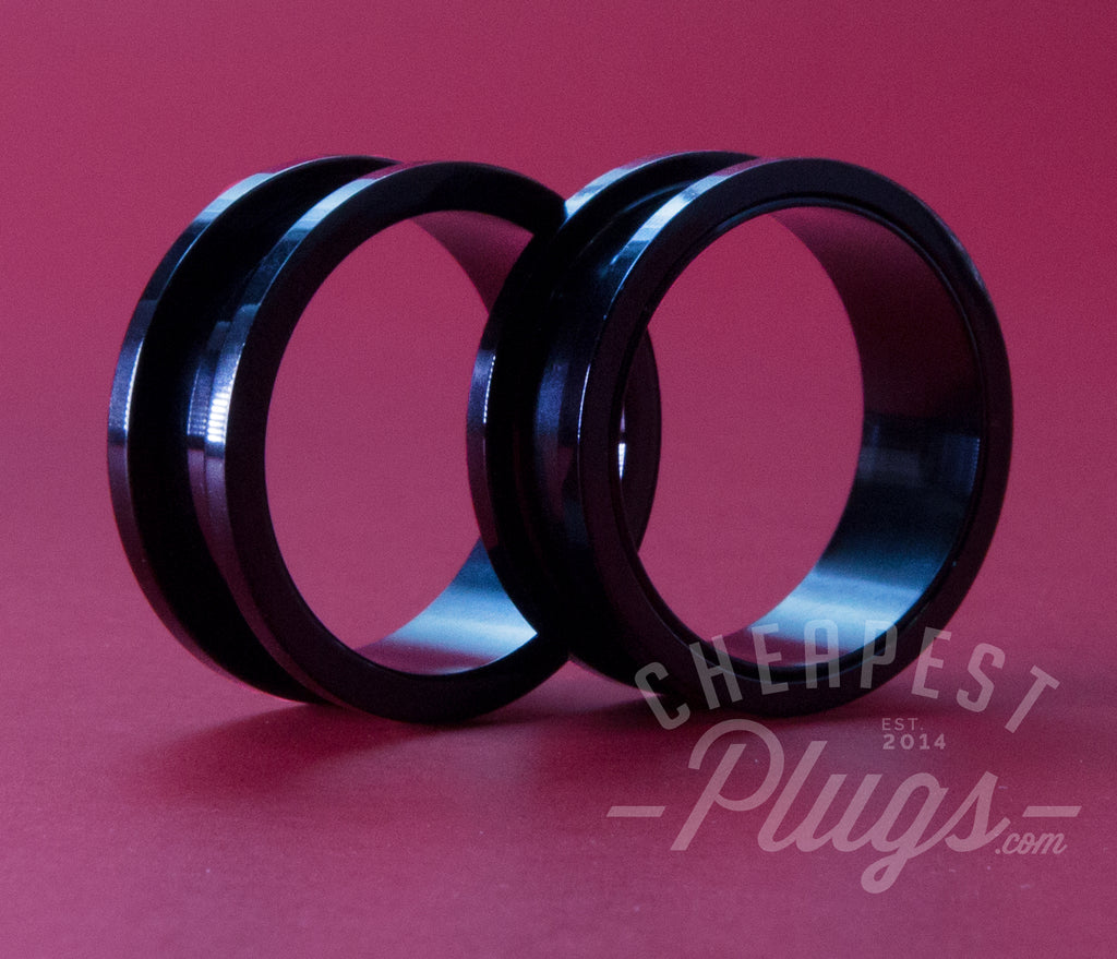 Black Threaded Steel Tunnels