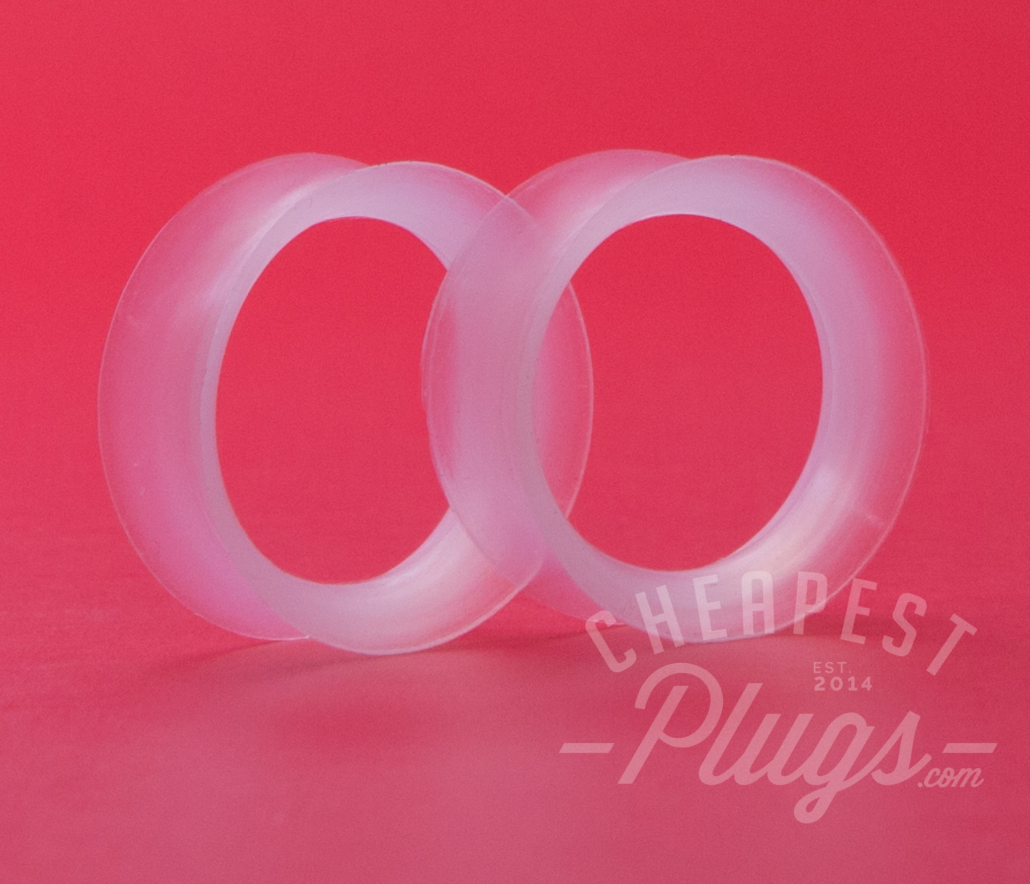 Clear Silicone Ear Skins Tunnels