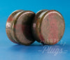 Earth Quartz Stone Plugs