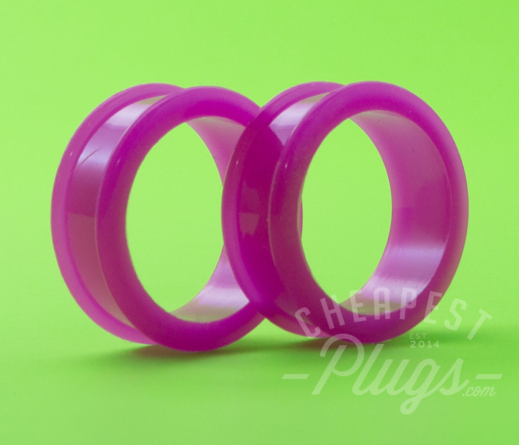 Purple Silicone Tunnels