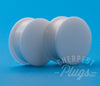 White Silicone Plugs