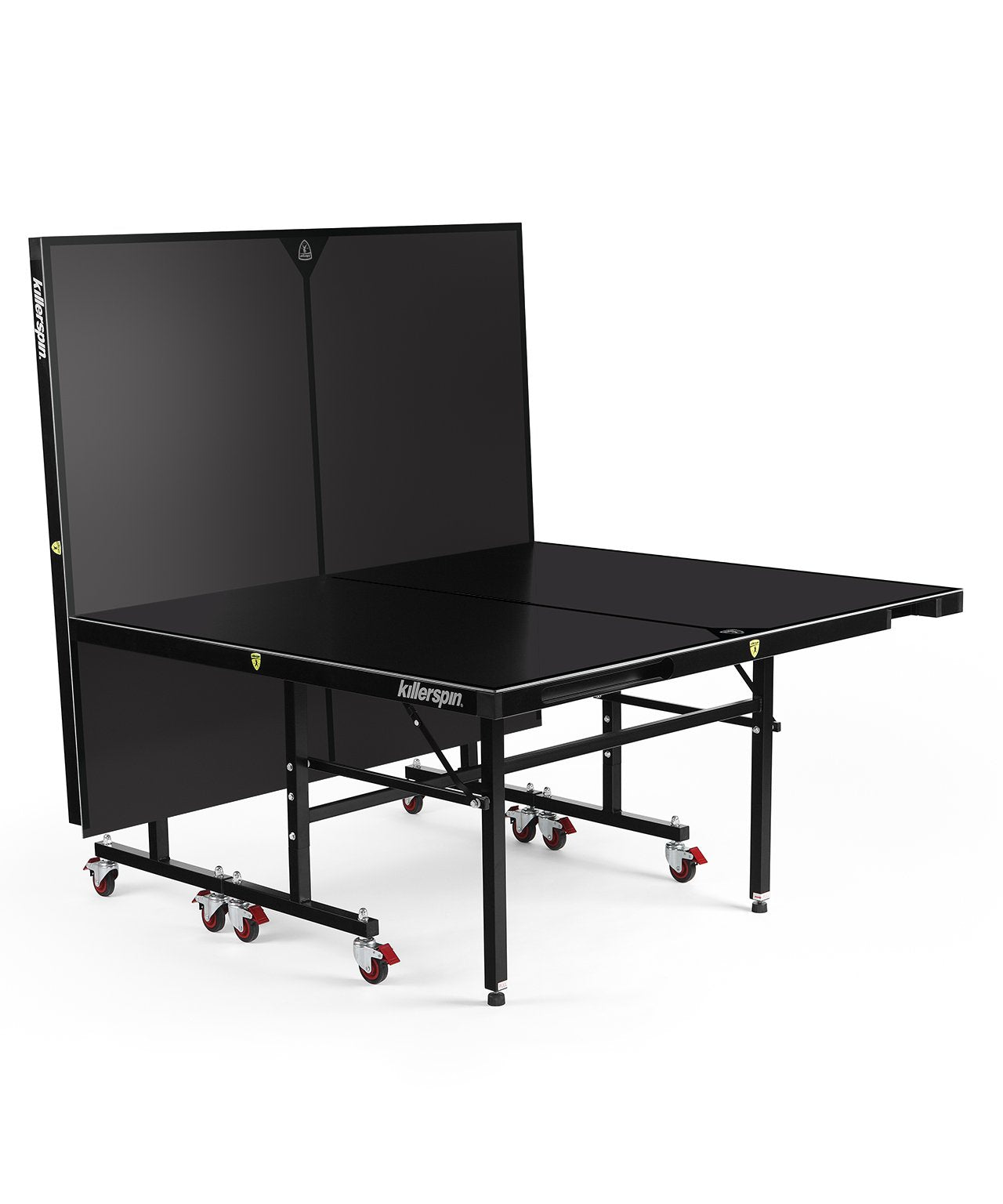 Outdoor Ping Pong Table with Storage Pockets - MyT10 BlackStorm by Killerspin - Gym Gear Direct