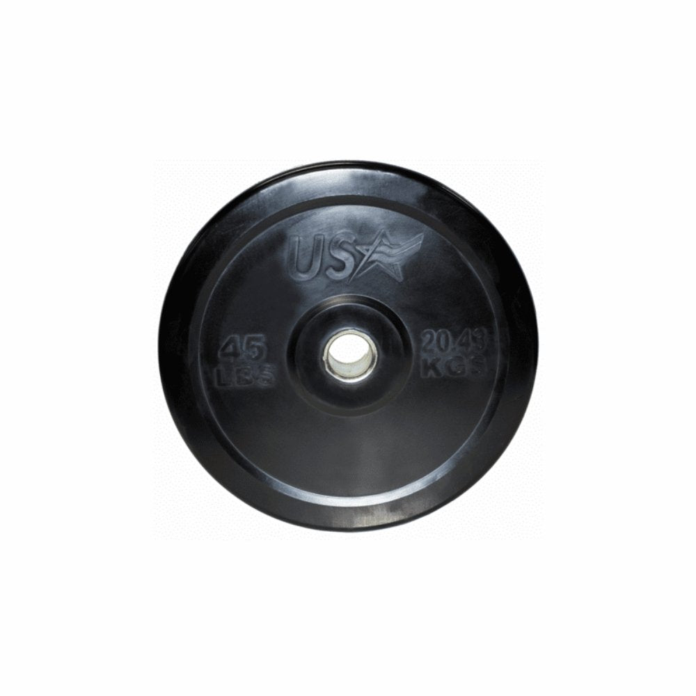 USA 235lb to 405lb. Combination Options Bumper Plate Set - Gym Gear Direct