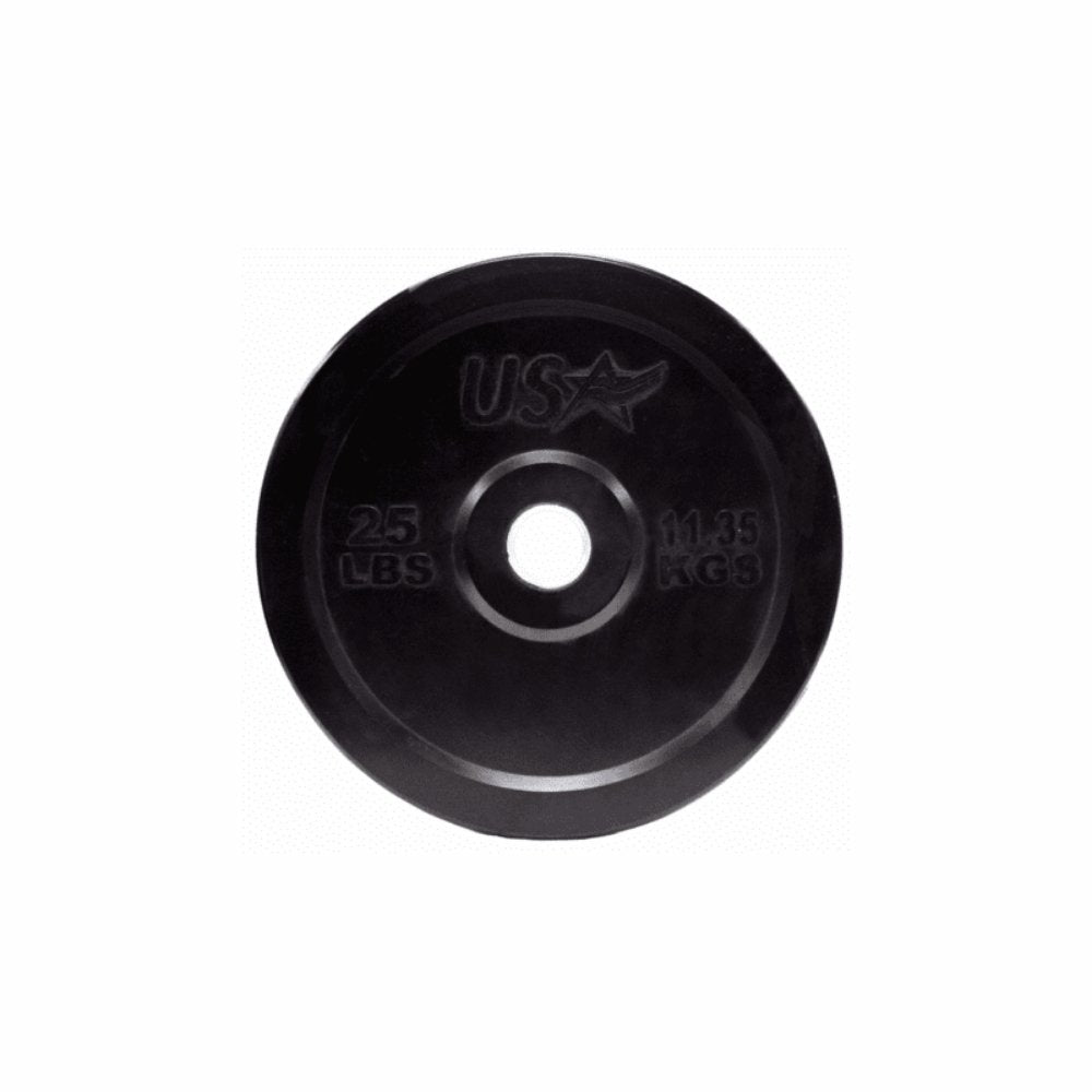 USA 305lb Bumper Plate Set - Gym Gear Direct