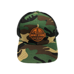 Branded Bill - Richardson - Patterned Snapback Trucker Cap