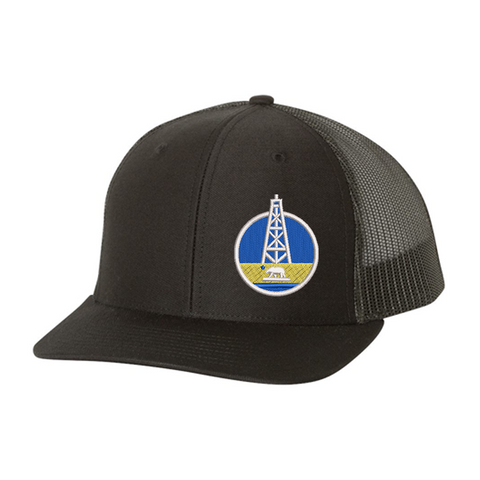 Basketball Theme Trucker Cap
