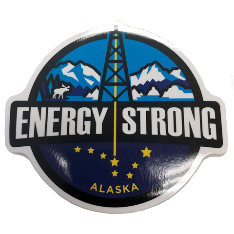 Energy Strong Truck Sticker