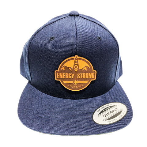 Branded Bill Navy - Snapback Trucker Cap