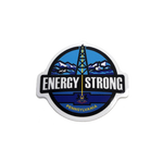 Energy Strong Hard Hat Sticker