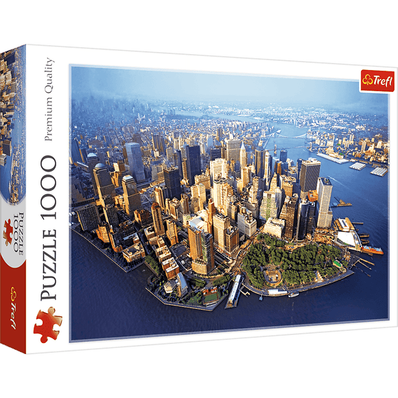 New York - Trefl - 1000 pieces - Puzzles-and-Games.com