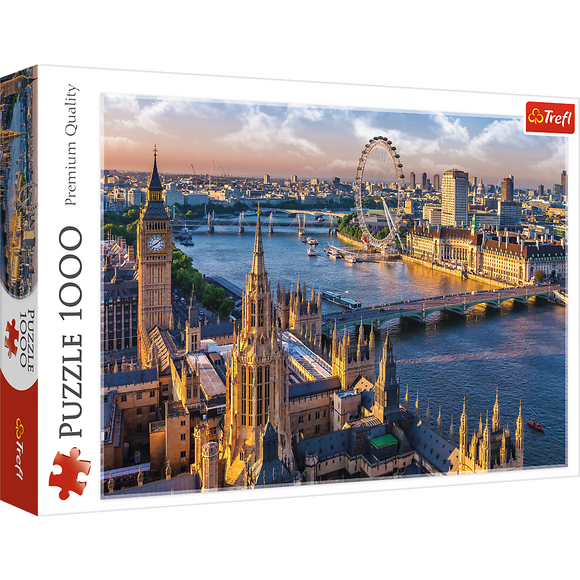 London, England Puzzle - Trefl - 1000 pieces - Puzzles-and-Games.com