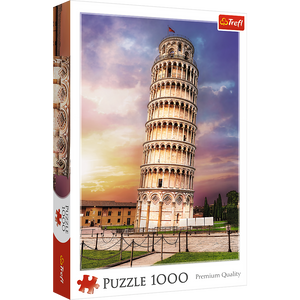 Pisa Tower - Trefl - 1000 pieces - Puzzles-and-Games.com