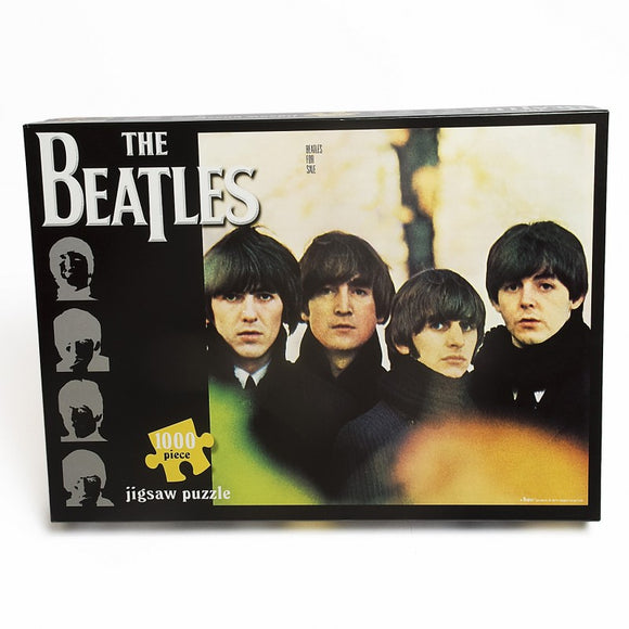 The Beatles For Sale Album Cover 1000 piece puzzle - Puzzles-and-Games.com
