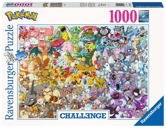 Pokemon Original 150 1000 piece puzzle - Puzzles-and-Games.com