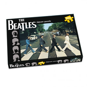 The Beatles Abbey Road Album Cover 1000 Piece Jigsaw Puzzle - Puzzles-and-Games.com