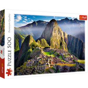 Historic Sanctuary of Machu Pichu Puzzle - Trefl - 500 pieces - Puzzles-and-Games.com
