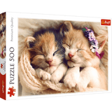 Sleeping Kittens Puzzle - Trefl - 500 pieces - Puzzles-and-Games.com