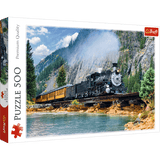Mountain Train Puzzle - Trefl - 500 pieces - Puzzles-and-Games.com