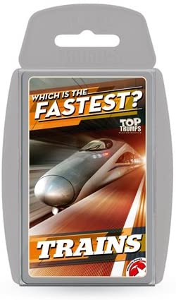 Top Trumps Trains - Puzzles-and-Games.com